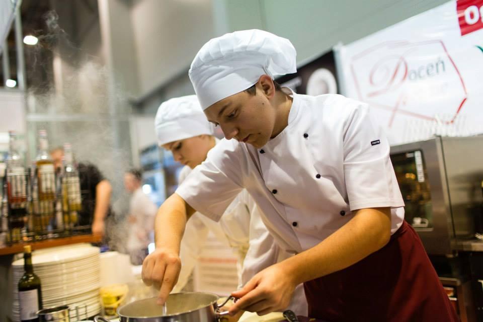 Konkurs kulinarny z udziałem uczniów ZSZ nr 2 w Krakowie