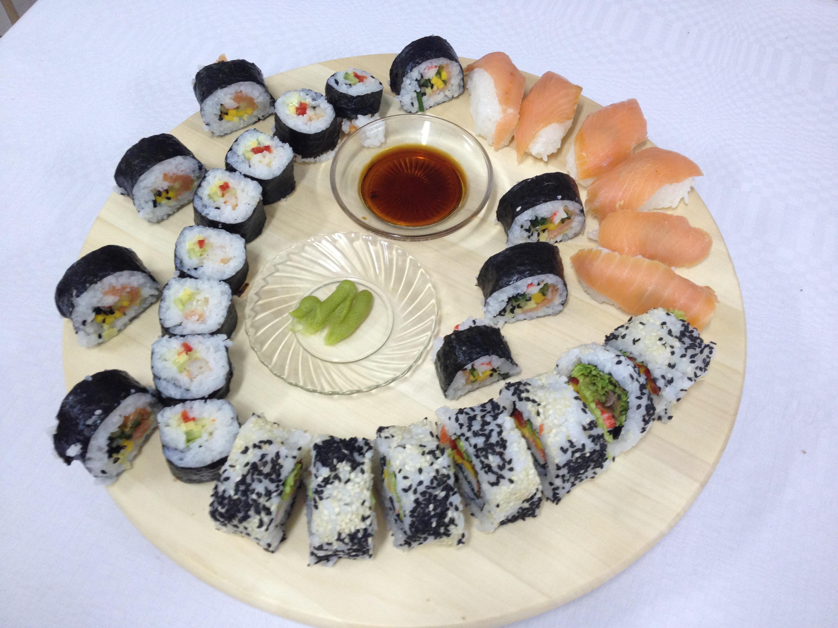 Pokaz sushi