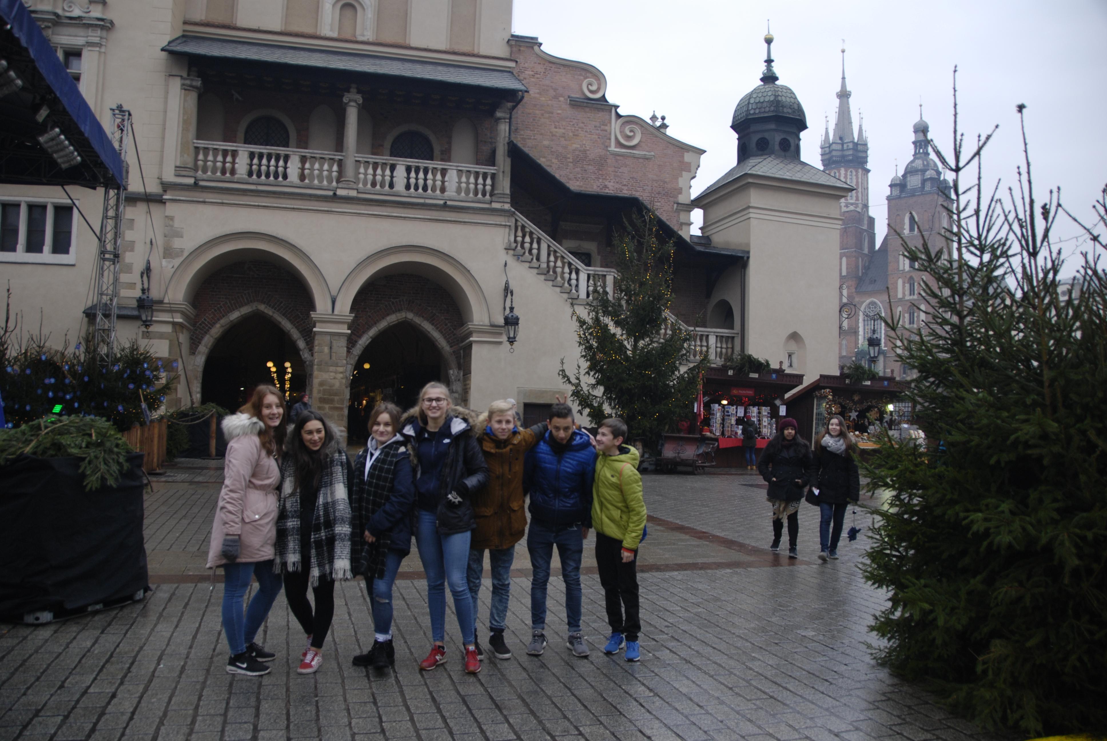 Wycieczka po świątecznym Krakowie